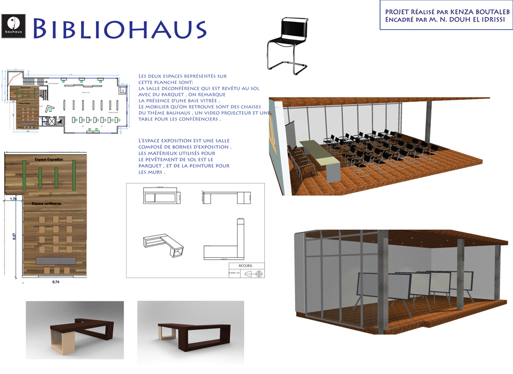 Projet de fin d tudes en design d int rieur cole for Cours de design interieur
