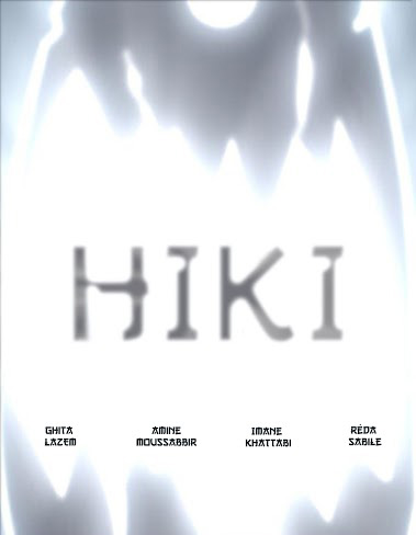 Hiki animation 3D