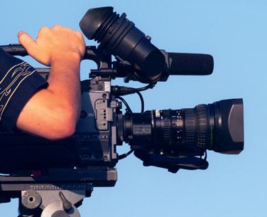 reporter cameraman